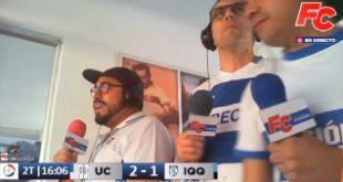 [VIDEO] Revive los relatos de los goles cruzados a Deportes Iquique en la #FCam